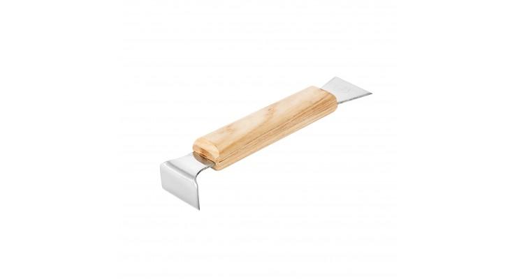 Rozpěrák nerezový 160 mm s dřevěnou rukojetí