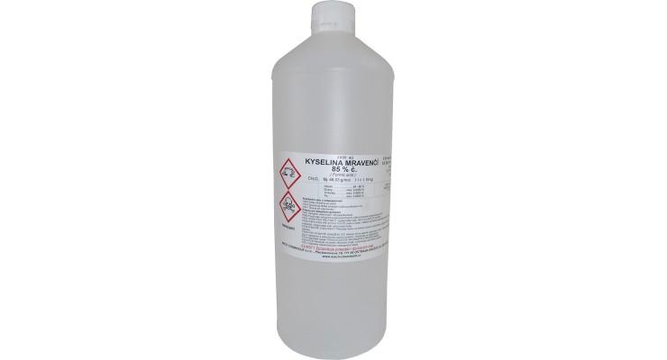 Kyselina mravenčí 85% čistá