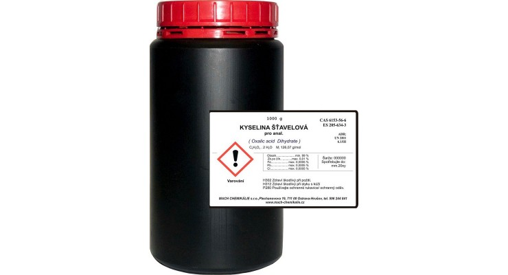 Kyselina šťavelová dihydrát p.a. - 1000g