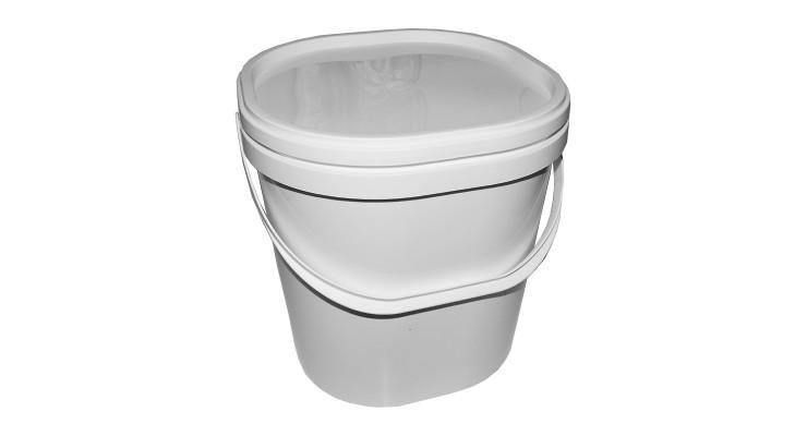 Nádoba na med plastová na 16 kg bílá