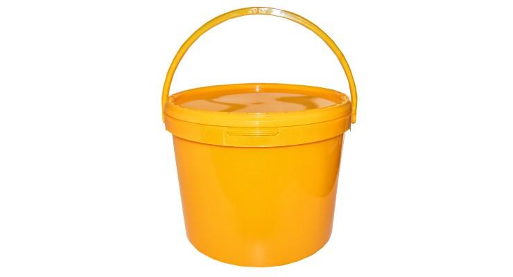 Nádoba na med plastová na 14 kg