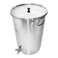 Stáčecí nádoba nerezová na  100 kg - Swiss Biene