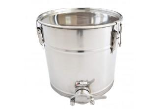 Stáčecí nádoba nerezová na  25 kg - Swiss Biene