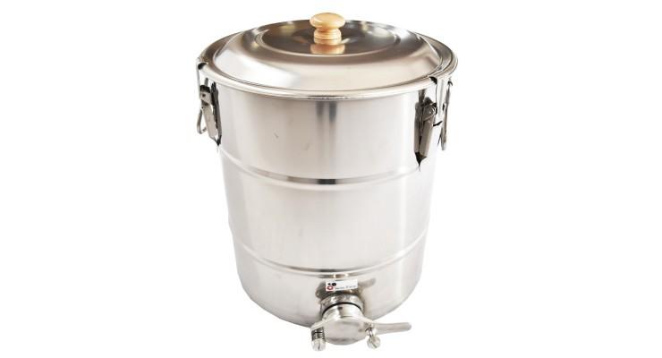 Stáčecí nádoba nerezová na  35 kg medu