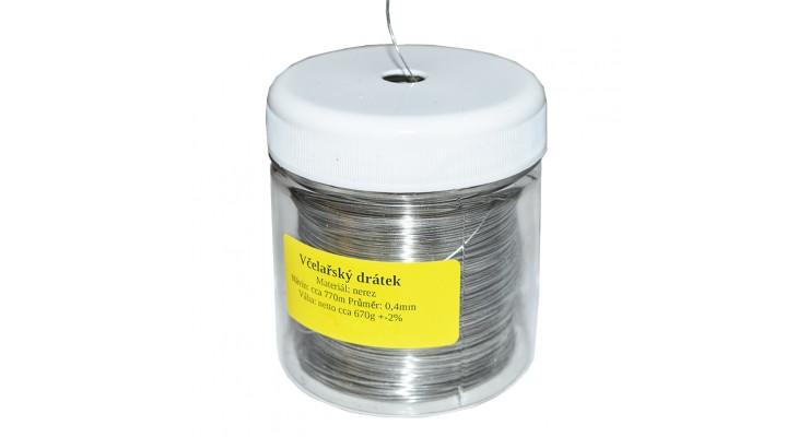 Drátek včelařský - odvíječ 0,67 kg - 770 m / 0,4 mm