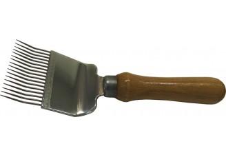 Odvíčkovací vidlička 1x lomená - 17 jehel