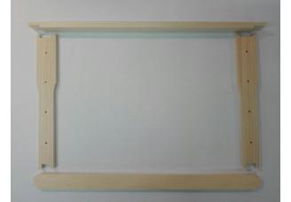 Rámkový přířez 39x24 Hoffman s čepem - vyvrtaný