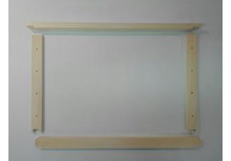 Rámkový přířez 39x24 s čepem - vyvrtaný