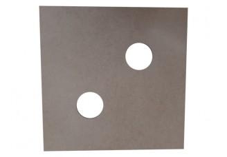 Deska pod sklenici 2 díry