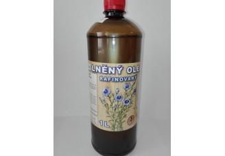 Barva na úly - lněný olej