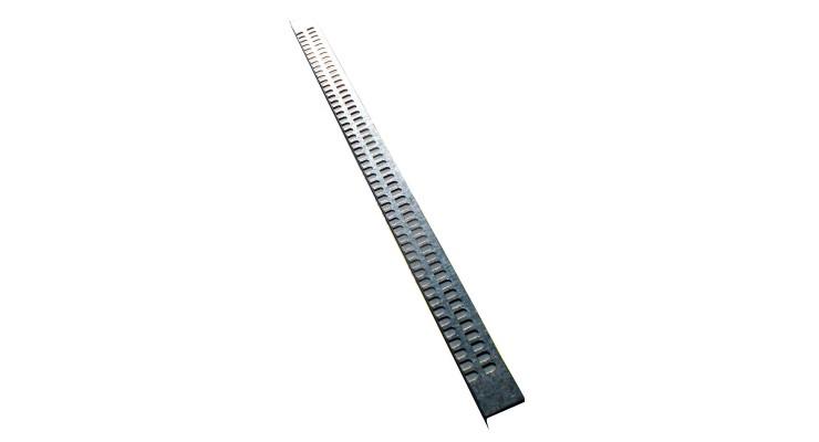 Zábrana do česna - kovová