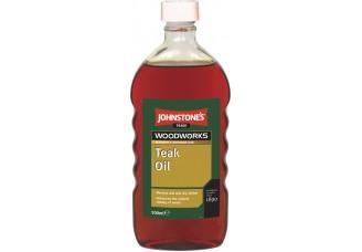 Barva na úly - teakový olej
