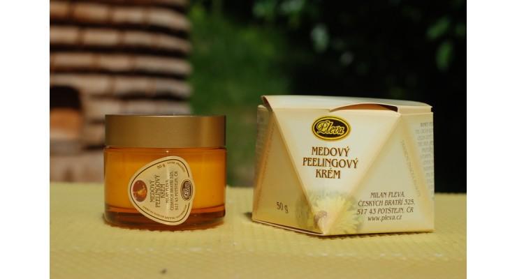 Medový peelingový krém 50g