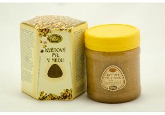 Květový pyl v medu