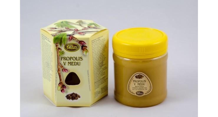 Propolis v medu