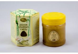 Zázvor lékařský v medu