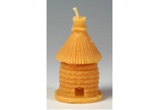 Svíčka ze včelího vosku - úl velký
