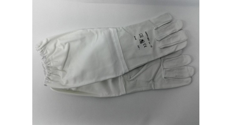 Včelařské rukavice kozinka vel. 7 - 11