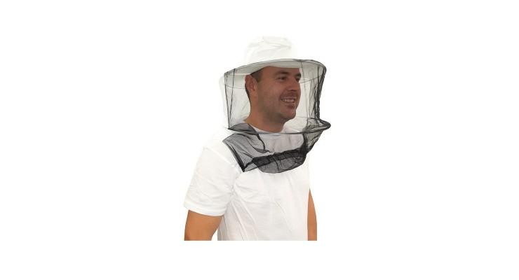 Včelařský klobouk s přetažením přes ruce