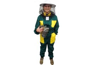 Včelařská kombinéza zelená