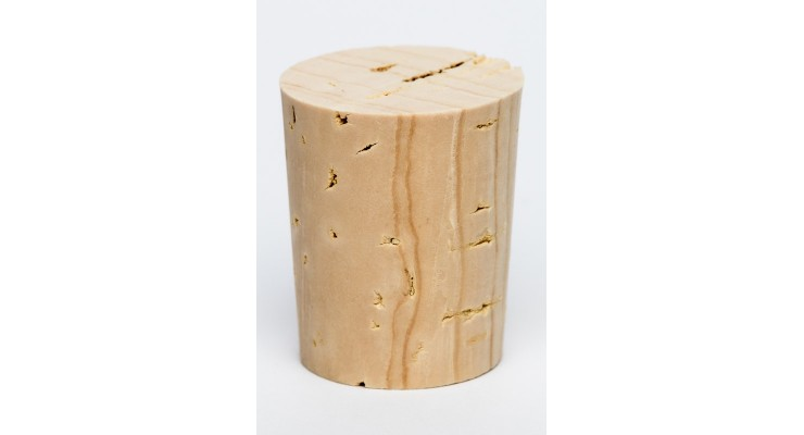 Korková zátka přírodní 27x22/19mm