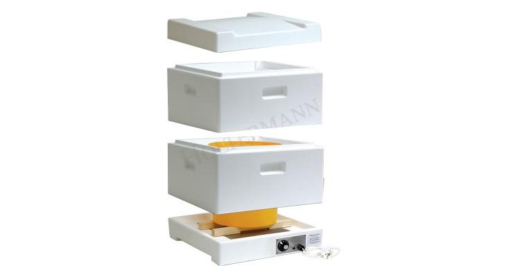 Tepelná komora na ztekucování medu